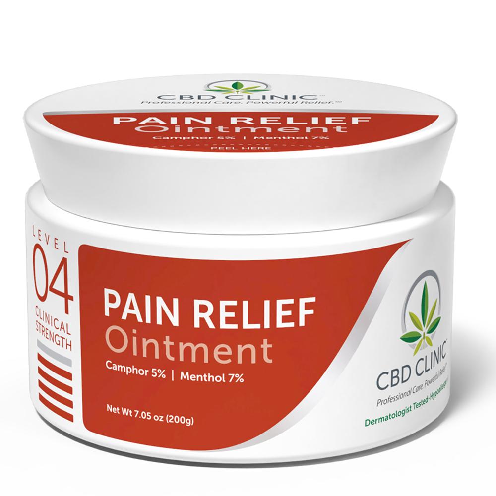 CBD Clinic - CBD Pain Relief Ointment: Level 4 - 200g