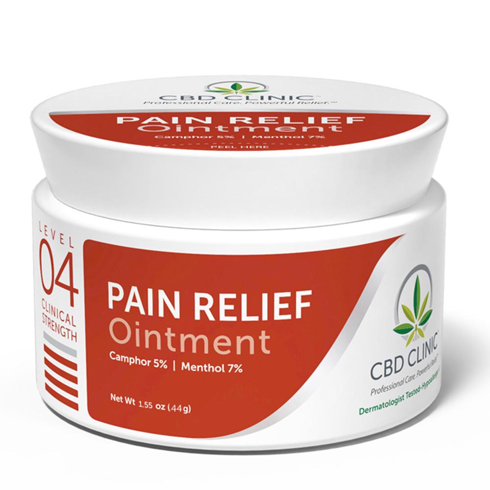 CBD Clinic - CBD Pain Relief Ointment: Level 4 - 44g