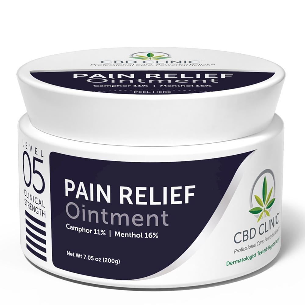 CBD Clinic - CBD Pain Relief Ointment: Level 5 - 200g