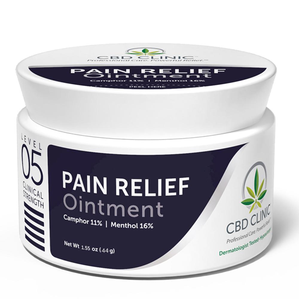 CBD Clinic - CBD Pain Relief Ointment: Level 5 - 44g