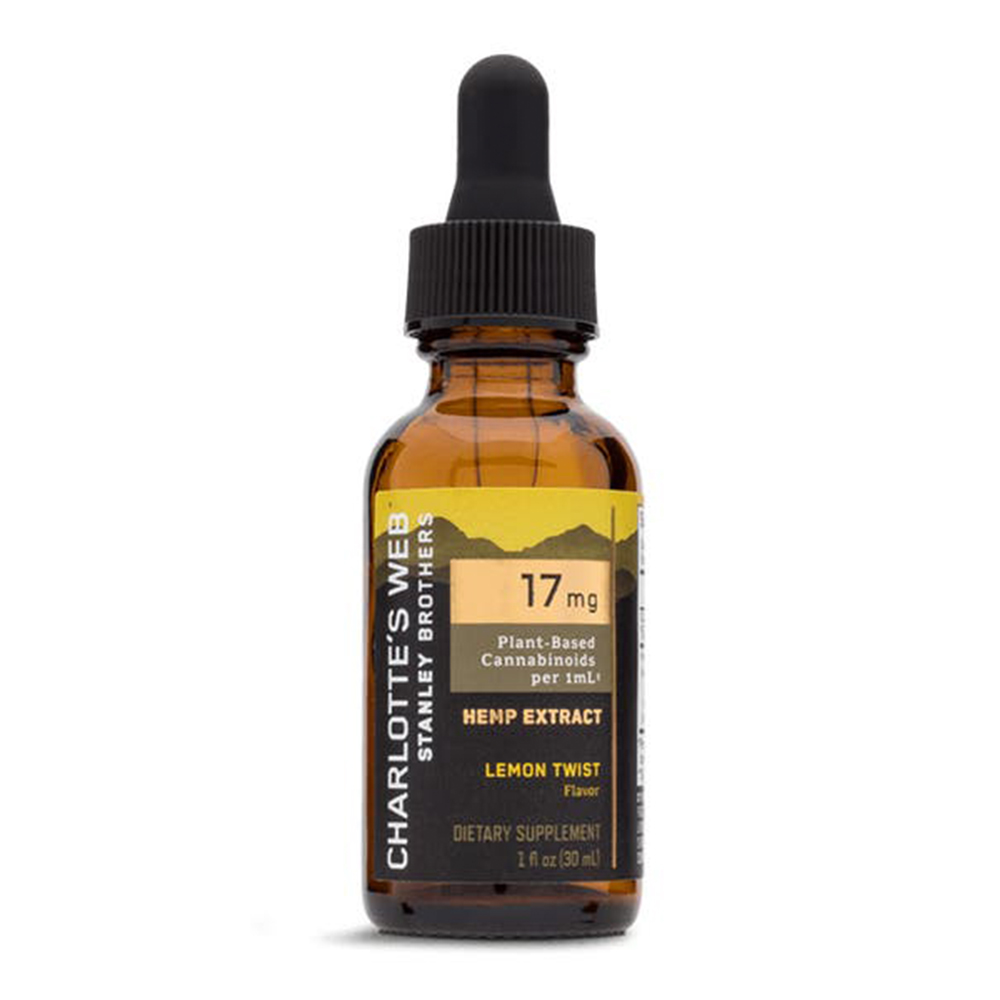 Charlotte's Web - CBD Oil: 17mg - Lemon Twist - 30mL