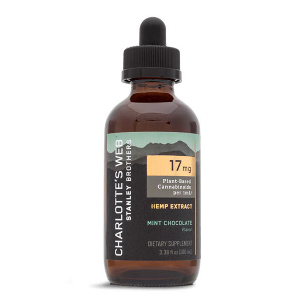 Charlotte's Web - CBD Oil: 17mg - Mint Chocolate - 100mL