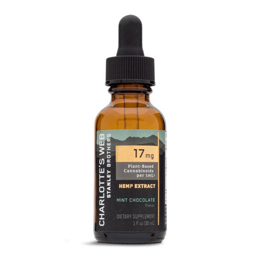 Charlotte's Web - CBD Oil: 17mg - Mint Chocolate - 30mL