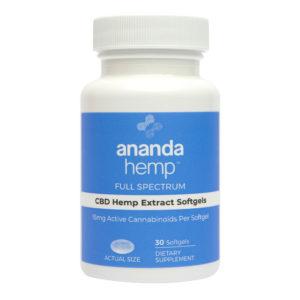 Ananda Hemp CBD Softgels
