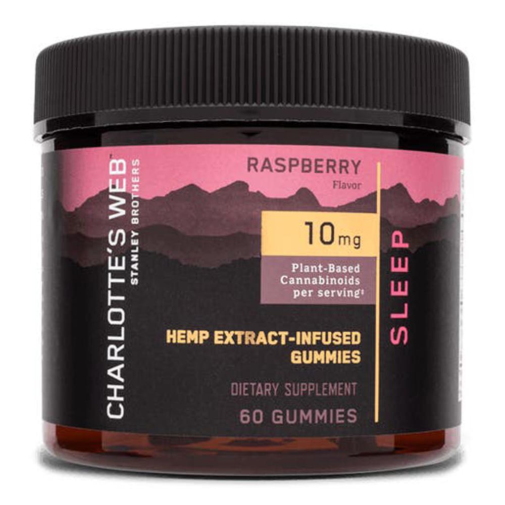 Charlotte's Web - CBD Gummies: 10mg - Sleep - Raspberry - 60 Count