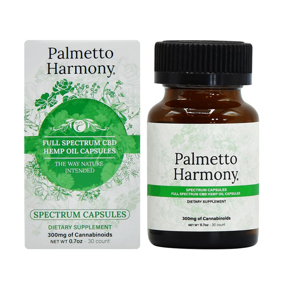 Palmetto Harmony CBD Capsules - 30 Count